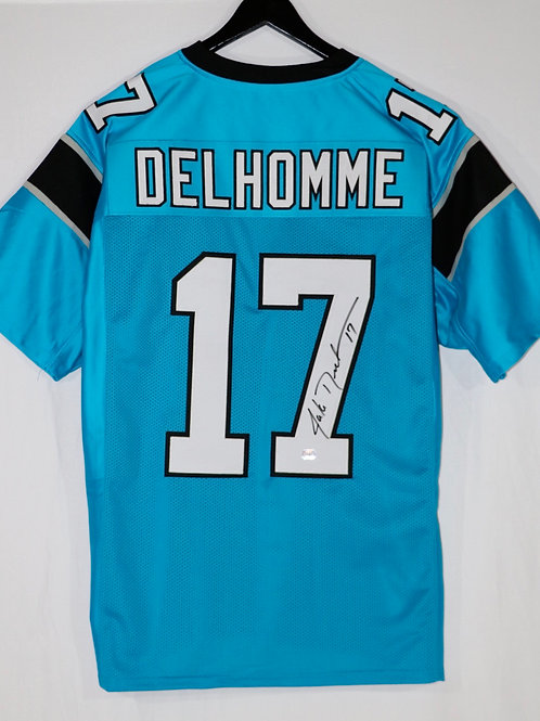 Jake Delhomme Autographed Carolina Panthers Jersey