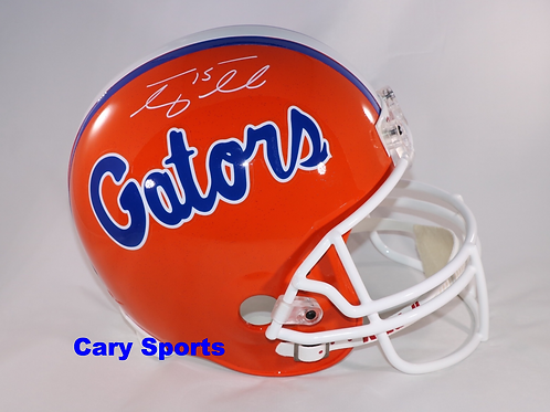 Tim Tebow Signed Florida Gators Full Size Replica Helmet