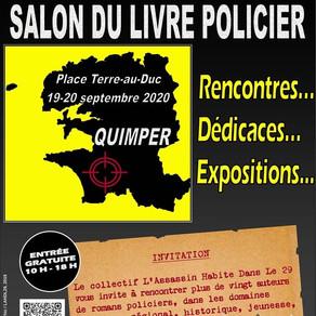 Salon du livre policier de Quimper