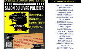 Salon du Livre Policier - Bénodet 29 août 2021