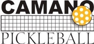 Camano Pickelball logo yellow 1.5 inch.j