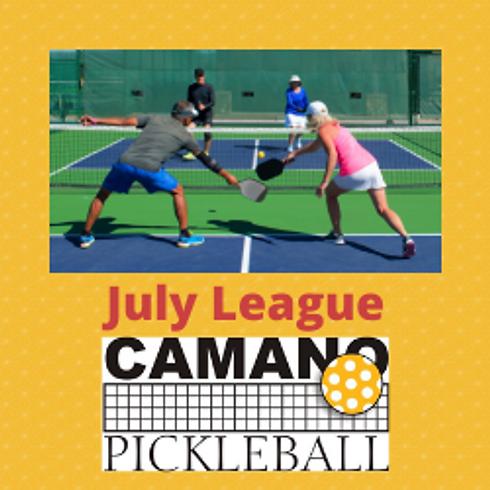 July Leagues - Mixed Doubles & Men's Doubles