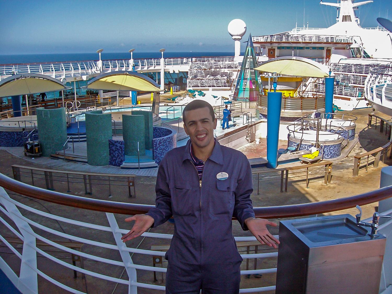 On deck