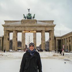 Winter @ Brandenburg Gate