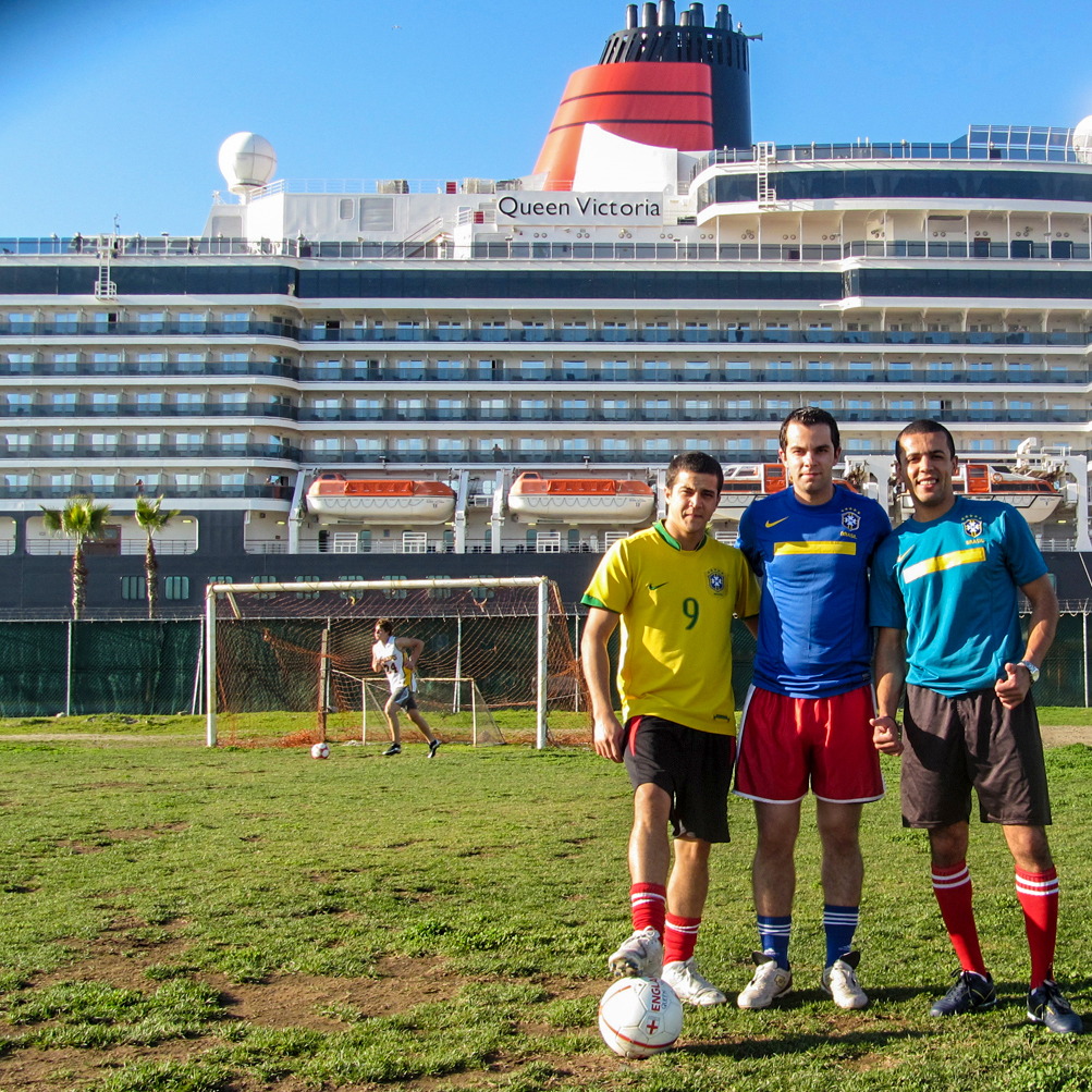 Football in Ensenada, Mexico