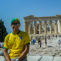 Temple ruin, Athens