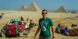 First time in Egypt