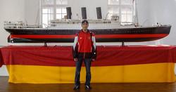 Replica of the Titanic