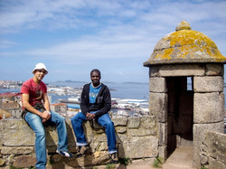 Jorge and me in Vigo, Spain