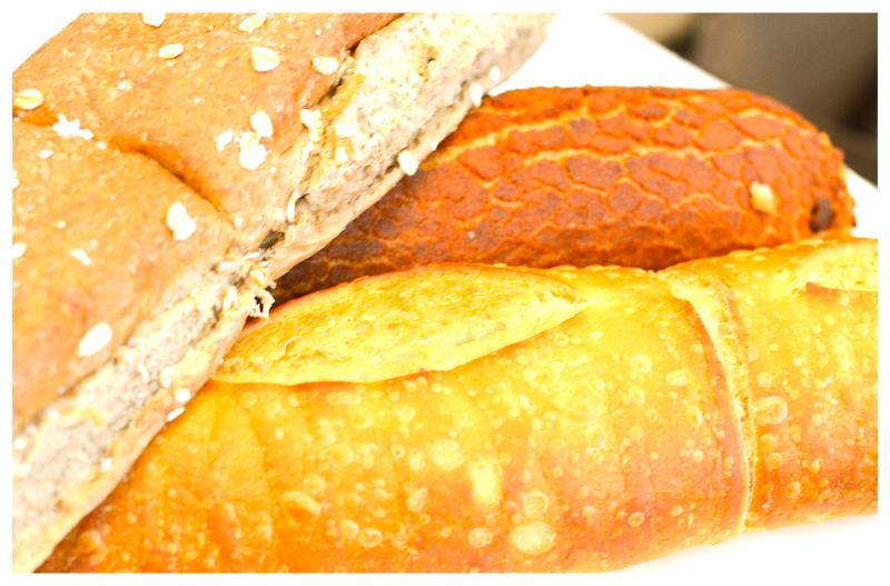 Fresh bread selection