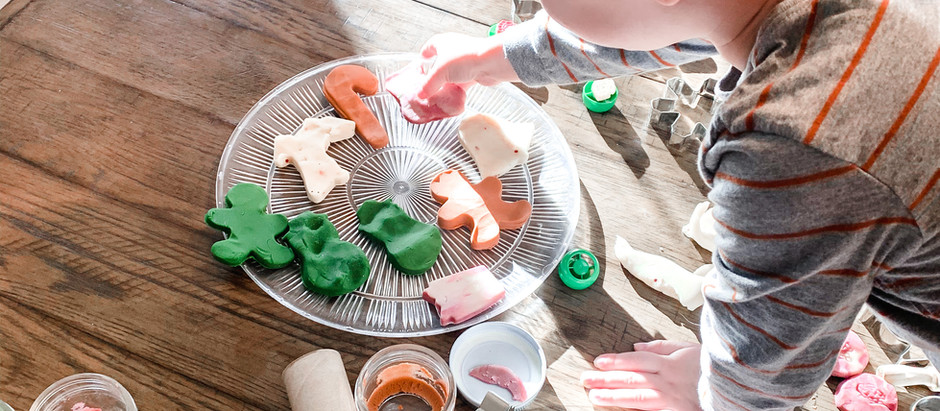 Christmas  Play Dough Activities