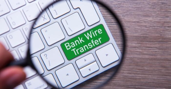 international wire transfer