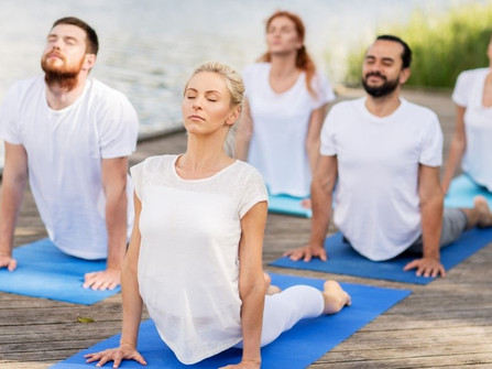 Le yoga pour éviter les périodes de stress