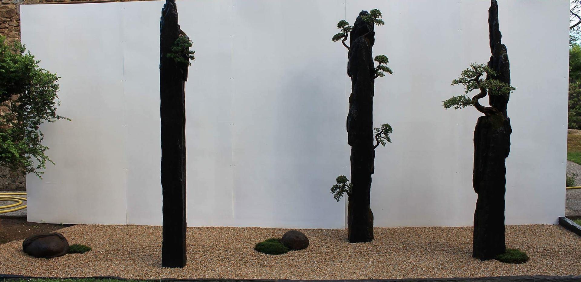 jardin contemporain temporaire