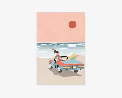Cartes postales LIMONE-Lot de 6
