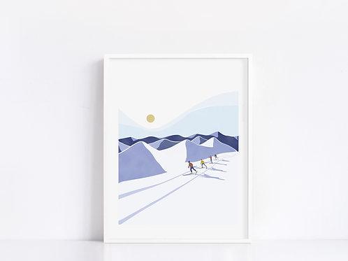 Sport d'hiver 03 11x14
