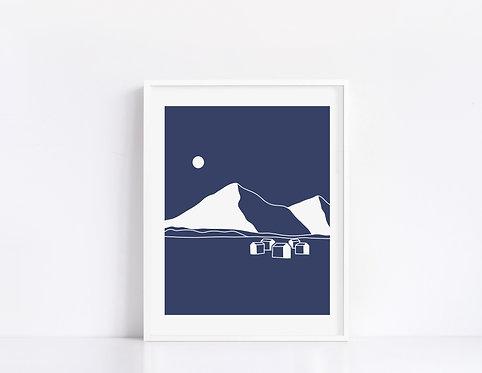 Sports d'hiver 04 Line Art