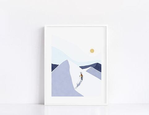 Sports d'hiver 01 16x20