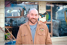 Our company president and master beekeeper Barry Yhard