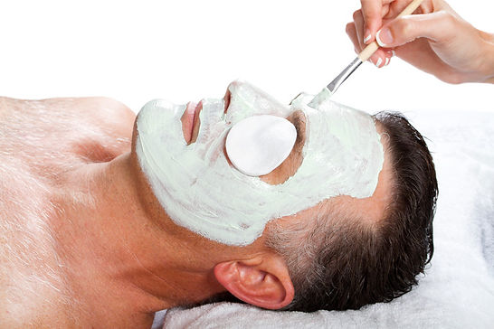 men skincare at creative healing therapy