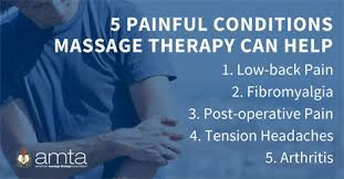 5 reasons for massage