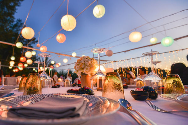 Set Tisch - Fancy-Nachtereignis