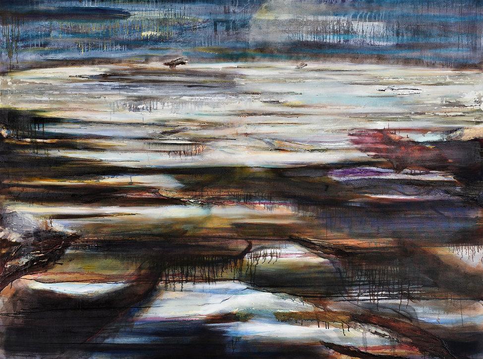 Es Passiert Wieder, oil on canvas, 150 x