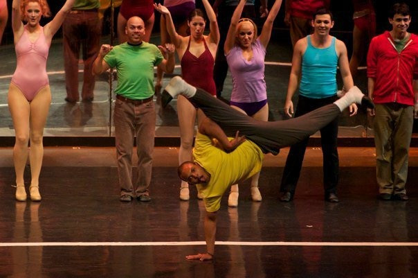 Richie Walters in A Chorus Line