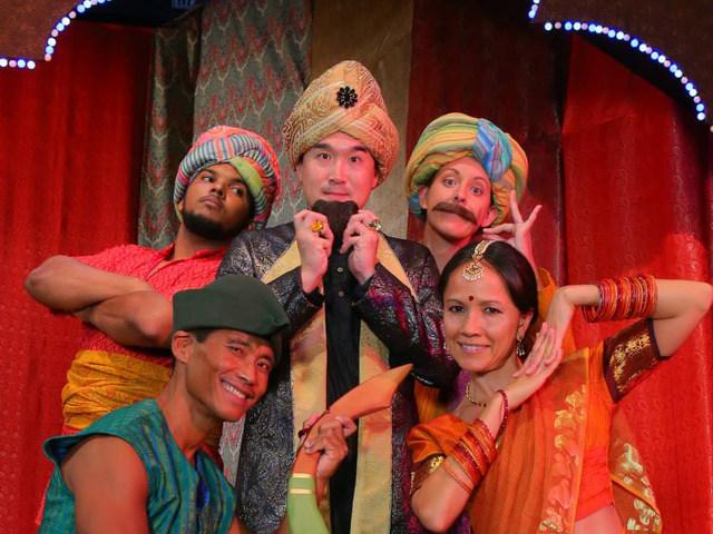 Little Janna  in A Bollywood Robin Hood