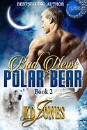 Bad News Polar Bear by KD Jones