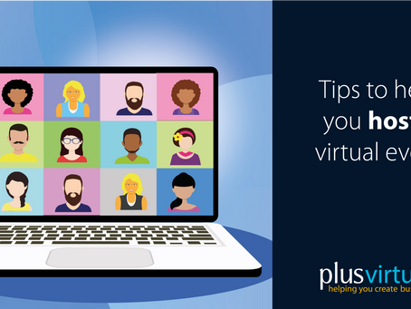 Tips to help host a virtual event