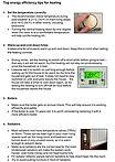 Leaflet - Top energy efficiency tips for