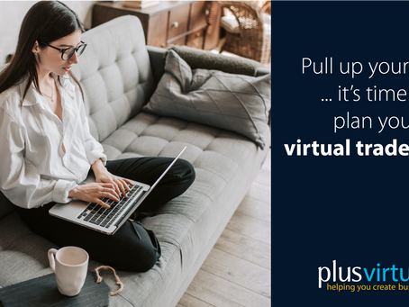 Pull up your sofa… it's time to plan your virtual trade show