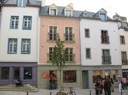 Le 8 rue de la Visitation en rose