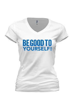 Be Good To Yourself T-Shirt (Blue)