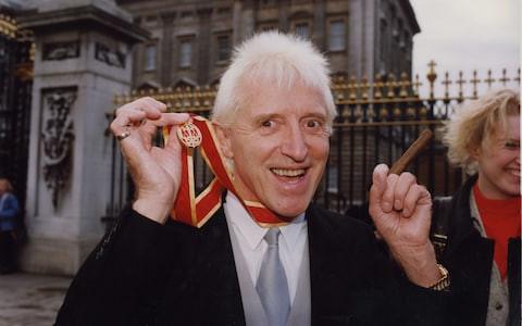 Jimmy Savile Knighted