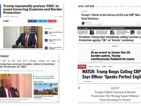 SerialBrain2 decodes Q: Trump confirms Q comms at the ICE & CBP White House event.
