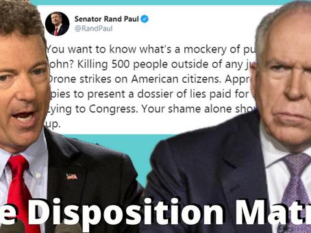 The Rand Paul - John Brennan Showdown