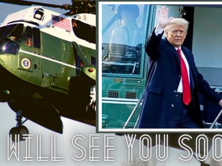 The Last President's Final Flight