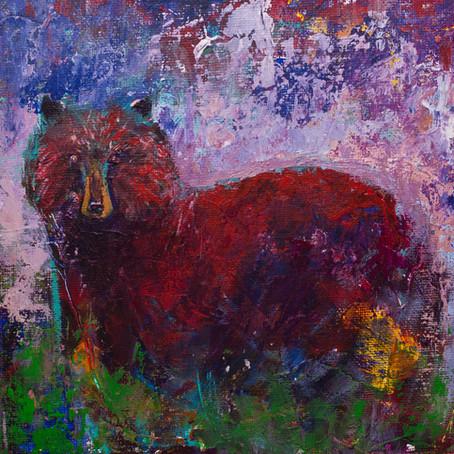 Expressionist Bear