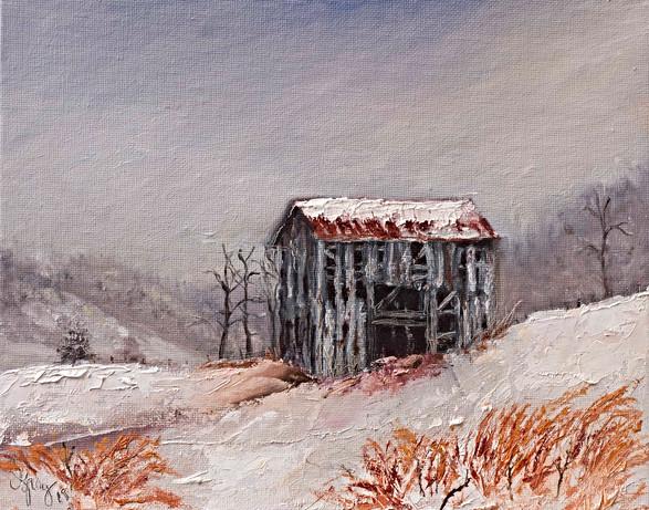 Candler NC Barn - Gray Artus