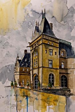 Mountain Castle - Gray Artus