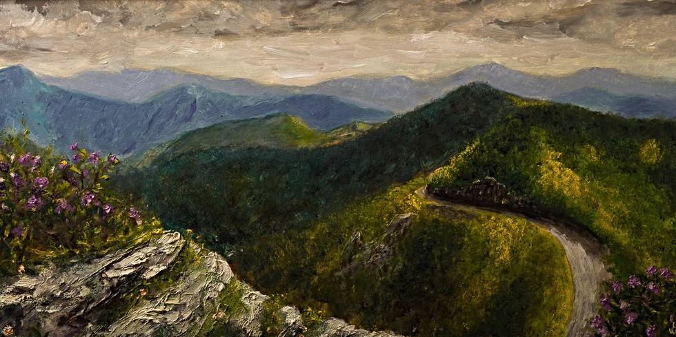 Craggy Garden Overlook - Gray Atus