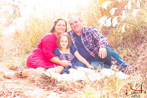 Family portrait - Gray Artus