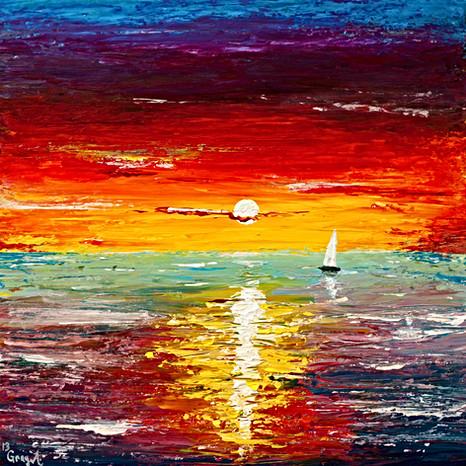 Atlantic Sunrise - Gray Artus