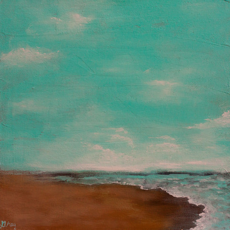A Painting A Day #4 | Seascape