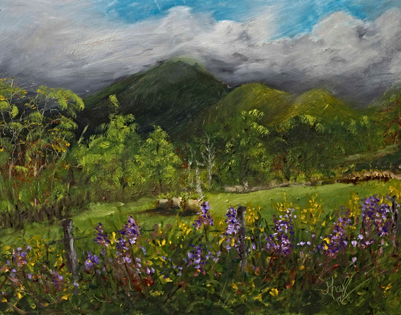 Blue Ridge Countryside - Gray Artus