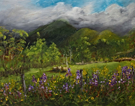 Blue Ridge Countryside - Gray Artus