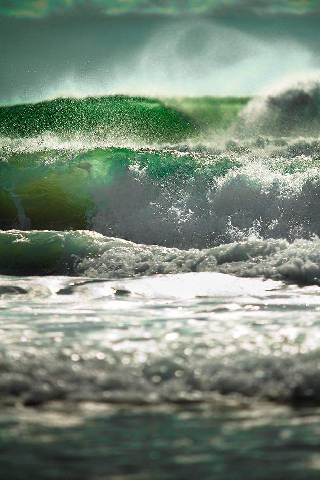 Wind Blown Waves - Gray Artus