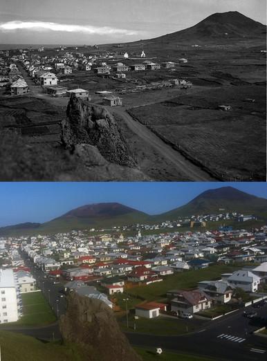 Hásteinn og byggðin